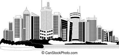 都市, 大都市, 現代
