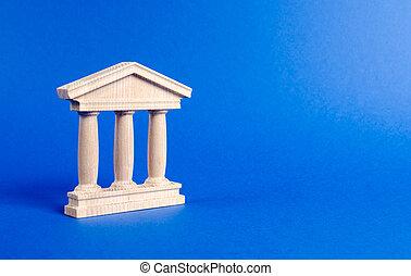 都市, 建物, 管理, 銀行, 記念碑, 柱, 教育, ∥あるいは∥, 法廷, style., 大学, 建築である, 古い, 銀行業, 概念, government., library., 小立像, 骨董品, city., 部分