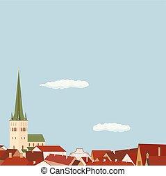 都市, 建築, ヨーロッパ