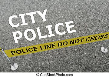 都市, 概念, 警察