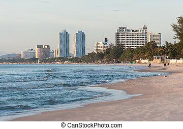 都市, 浜, 日の出
