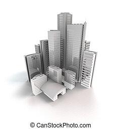 都市, 現代