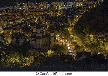 都市 生活, 夜