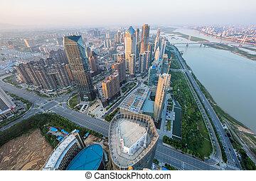 都市, 空中写真
