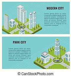 都市, 等大, 現代