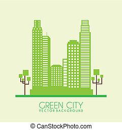 都市, 緑