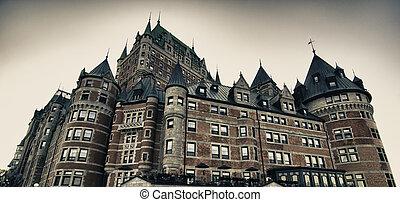都市, 色, 建築, ケベック