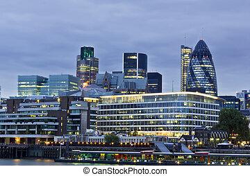 都市, 財政 地区, ロンドン