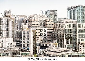 都市, 財政 地区, london.