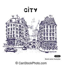 都市 通り, 古い