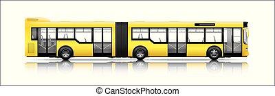都市, 長い間, バス