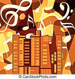 都市, 音楽, 都市 生活