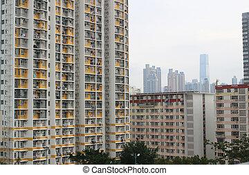 都市, 香港, 公共の家