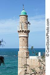 都市, al-bahr, 古い, モスク, イスラエル, yafo