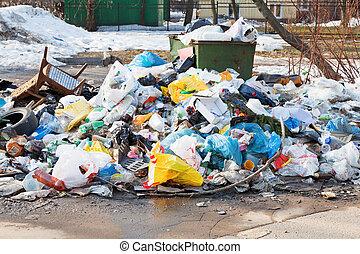 都市, dumpster