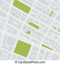 都市, map.