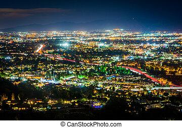 都市, san, 普遍的, 見晴らし場, フェルナンド, 谷, 光景