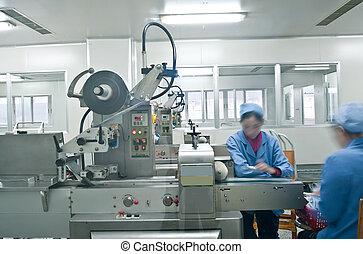 配藥, 線, 生產, 技師, 工作