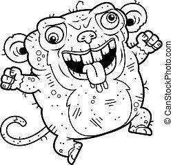 醜い, 狂気, サル