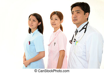 醫學的人員, 微笑