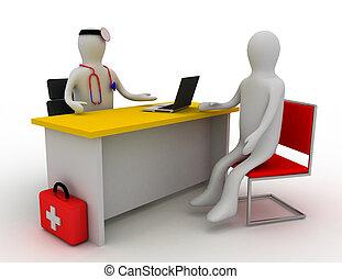 醫學, 咨詢