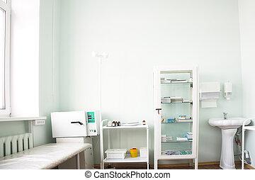 醫學, 房間