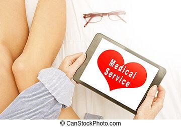 醫學, 服務, 數字