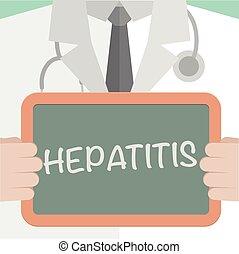醫學, 板, 肝炎