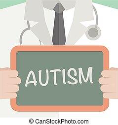 醫學, 板, autism