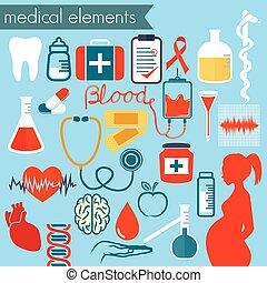 醫學, 矢量, 圖象