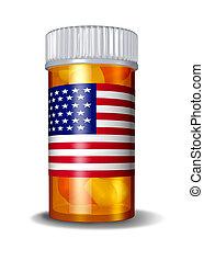 醫學, 美國人, 保健