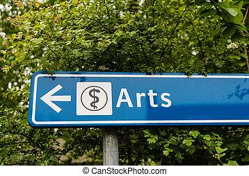 醫學, -, 藝術, 或者, 科學