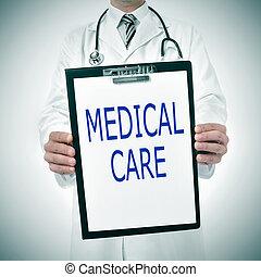 醫學, 關心