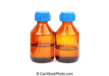 醫學,  retro, 瓶子