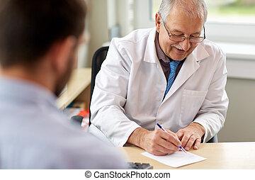 醫生作品規定, 為, 病人, 在, 門診部