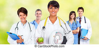 醫生, 婦女, 由于, 規模, 以及, apple.