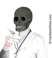 醫生, 死