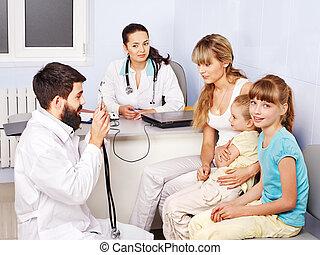 醫生, 考試, child.