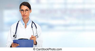 醫生, woman.