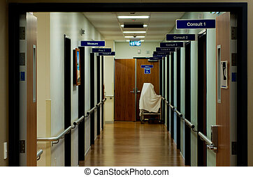 醫院, 咨詢, 房間