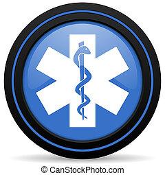 醫院, 圖象, 緊急事件, 簽署