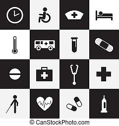 醫院, 圖象, 集合