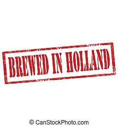 醸造された, holland-stamp