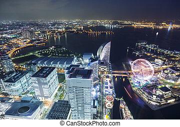 里程碑, 顶端, 横滨, 观点