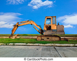 重い義務, 建設用機器