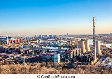 重い, 北京, 産業, 工場煙突