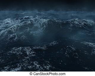 重い, 海