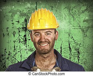 重い, 肖像画, 企業の労働者