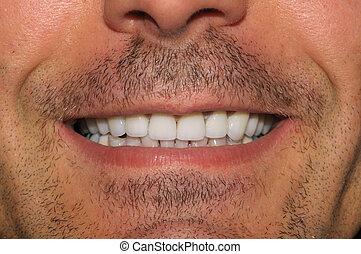 重大的牙齒