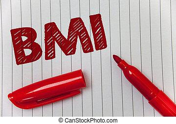 重量, テキスト, 印, ペーパー, マーカー, 敬意, メッセージ, 開いた, 索引, 考え, bmi., 写真, 概念, 体, 提示, コミュニケートしなさい, 意図, ノート, 高さ, 定まる, 健康, 範囲, 固まり, feelings.